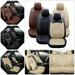 Pu Leather Car Seat Cover For Toyota Camry 2012 2017 Protector Cushion Full Set