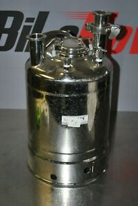 Alloy Products 2 5g Stainless Pressure Vessel 155 Psi 316l Pharmaceutical 4