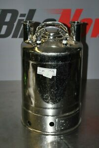 Alloy Products 2 5g Stainless Pressure Vessel 155 Psi 316l Pharmaceutical 16