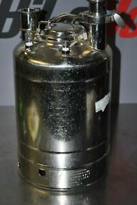 Alloy Products 2 5g Stainless Pressure Vessel 155 Psi 316l Pharmaceutical 21