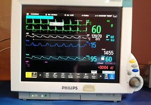 philips Intellivue Mp70 Patient Monitor X 2 M3002a