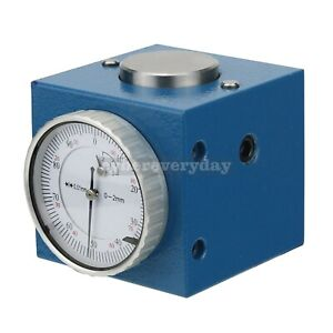 Magnetic Z Axis Tool Dial Zero Pre Setter 0004 Gage Offset Cnc Metric Range