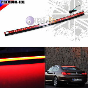 1x Universal 36 inch Roofline Led Third Brake Tail Light For Car Rear Windshield