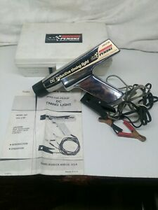 Tested Sears Penske 244 2138 Inductive Timing Light W Cables Manual Box