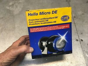 Hella Micro De Fog Light With Blue Accent Ring 1nl008090001