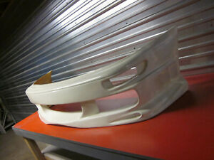 Fiberglass Bmx Style Front Bumper For A 93 97 Toyota Corolla 4dr