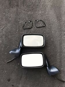 Porsche 944 Side View Mirrors Pair Driver And Passenger Side Power