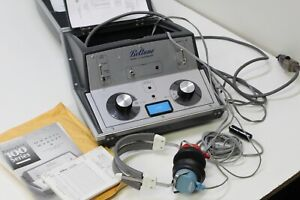 Beltone Model 119 Audiometer Hearing Tester With Headphones Free Shipping