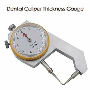 Generic Dental Caliper Thickness Gauge 0 10 0 1mm Caliper With Metal Watch Mea