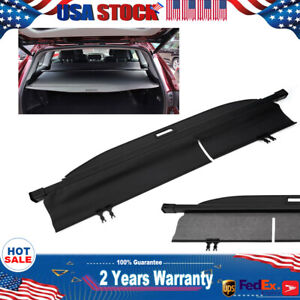 For 2014 2019 Toyota Highlander Retractable Cargo Luggage Rear Trunk Cover Us