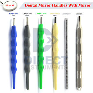 Medentra Dental Mouth Mirror Handles Oral Examination Tooth Inspection Hygiene