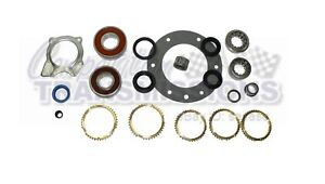 Jeep Ax15 Rebuild Kit W Steel Retainer Shifter Bushings Deluxe Master Kit
