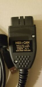Genuine Ross Tech Hex Can Usb Vcds Vag Com Interface Unlimited Vin S