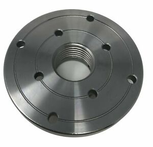 4 Steel Wood Lathe Face Plate 1 1 4 X 8tpi Threaded
