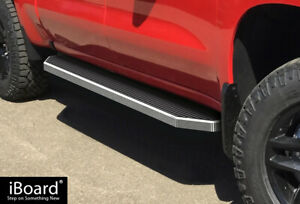 Iboard Polished Running Boards Fit 19 21 Chevy Silverado Gmc Sierra Crew Cab