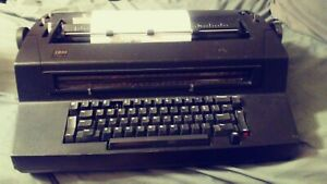 Vintage Black Ibm Correcting Selectric Iii Typewriter