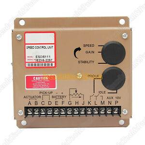 New Electronic Engine Speed Controller Governor Esd5111 Generator Genset Parts