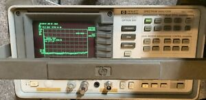 C158870 Hp 8591a Option 001 Spectrum Analyzer 1mhz 1 8ghz 001 004 102 023 101