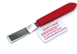 Scotty Peeler Label Sticker Price Tag Remover Cutter Single Metal sp2
