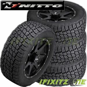4 Nitto Terra Grappler G2 305 50r20 120s Xl All Terrain A t Suv Cuv Truck Tire