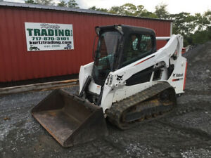 2016 Bobcat T590 Compact Track Skid Steer Loader W Cab Only 500hrs