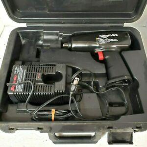 Snap On Harley Davidson 3 8 Cordless Impact Wrench 9 6v Untested Needs Battery