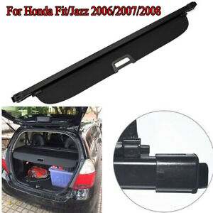 For Honda Fit jazz 2006 2007 Trunk Tailgate Liftgate Cargo Cover Oe Style