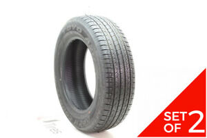 Set Of 2 Used 225 65r17 Toyo Open Country A20 101h 7 5 9 32