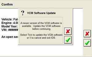 Ford Ids Vcm2 Vcm 2 Software Dealer Software License Activation 1 Year July