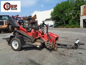 2014 Barreto 30 sgb Stump Grinder With Trailer Forestry Tree Equipment