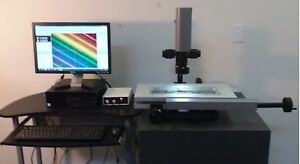 New 12x4 Cmm Manual Video Measuring And Inspection Machine Without Computer