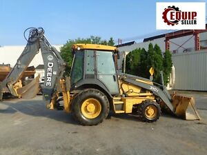 2008 John Deere 310j Backhoe Diesel Enclosed Cab Extendahoe