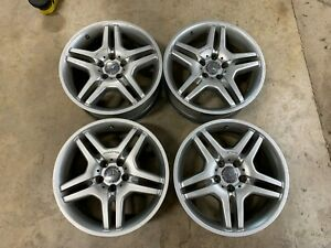 2006 Mercedes Cl500 C215 Oem 18 Amg Wheels Rims 5x112mm 8 5 9 5x18 Eh2 Et44