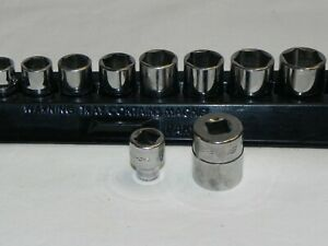 Snap On Tools Pakty231 12 Pc 3 8 Socket Set With Magnetic Tray Usa Made
