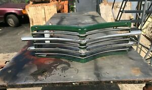 1946 1947 1948 Plymouth P 15 Front Grille 46 47 48 Used In Good Shape