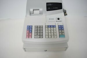 Sharp Xe a202 Electronic Cash Register Retail Store