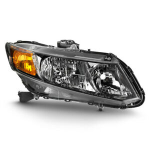 factory Style Replacement For 12 15 Honda Civic 4dr 13 2dr Headlight Rh Side