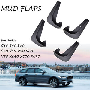 Xukey 4pcs Mudflaps For Volvo Mud Flaps Splash Guards Front Rear Universal