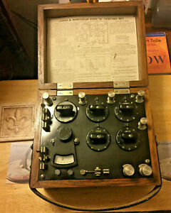 Leeds Northrup Type S Test Set 5300 Vintage Industrial Unit From Us Army