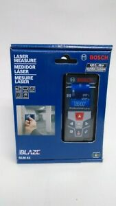 Bosch Glm 42 Blaze 135 Ft Laser Measure With Full Color Display