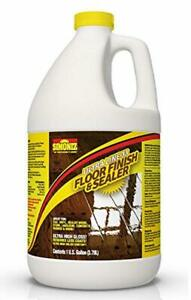 Floor Finish Sealer Wax 1 Gallon Durable Quick Drying For Diamond Like Shine