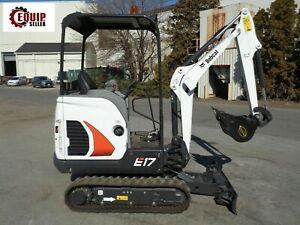 Unused New 2017 Bobcat E17 Mini Excavator