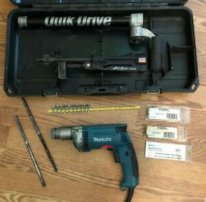 Simpson Strong tie Quik Drive Pro300s Screw Gun Makita In Case