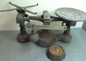 Vintage Cast Iron Fairbanks Grocery Store Scale No 3