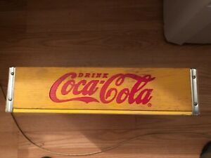 Coca Cola Wooden Crate Collectible