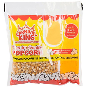 Carnival King All in one Popcorn Kit For 8 10 Ounce Poppers 24 case