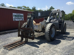 2007 Terex Th644c 4x4 Telescopic 6000lb Forklift 44ft Only 1500hrs
