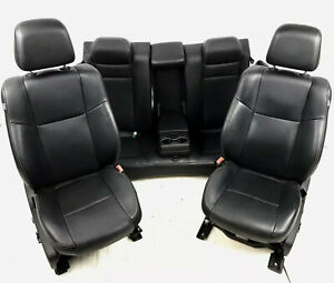 2011 2018 Dodge Charger Front Rear Electric Leather Seats Heated Cooled