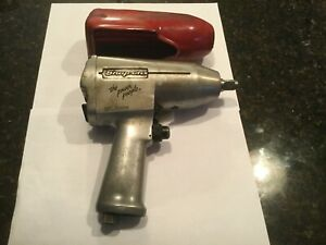 Snap on Tool Im510 1 2 Drive Air Impact Wrench With Cover Pneumatic