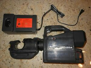 Huskie Rec 510a Robocrimp 12 Ton Battery Compression Tool Robo Crimper Only